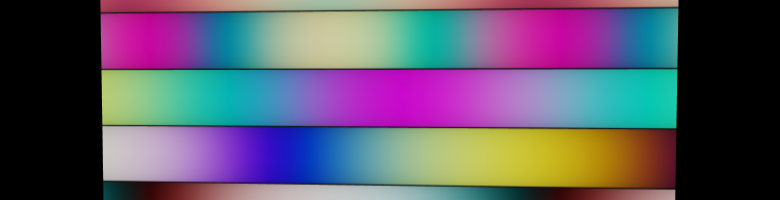 Color Palettes using shaders